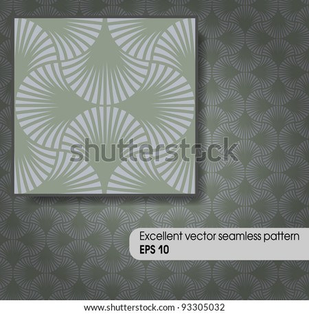 Excellent vector seamless pattern. EPS 10 - stock vector