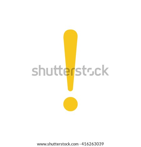 exclamation Icon JPG, exclamation Icon Graphic, exclamation Icon Picture, exclamation Icon EPS, exclamation Icon AI, exclamation Icon JPEG, exclamation Art, exclamation Icon, exclamation Icon Vector - stock vector