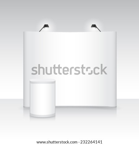 exhibition backdrop stand banner booth