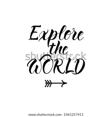 Lettering Creative Graphic Template Brush Fonts Inspirational Quotes Motivational Illustration