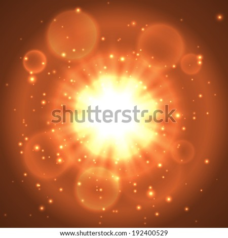 Explosion vector background. Vector eps10.