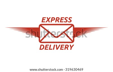 Express delivery vector icon - stock vector