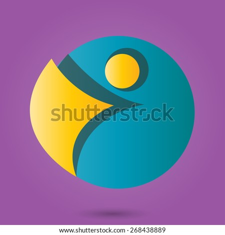 Express your creative ideas simple business icon - stock vector