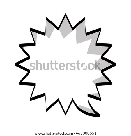 expression comic pop art icon vector illustration design