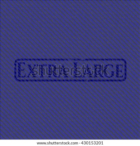 Extra Large jean background