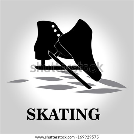 extreme sport over  gray background vector illustration - stock vector