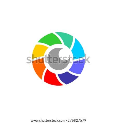 eye icon - stock vector