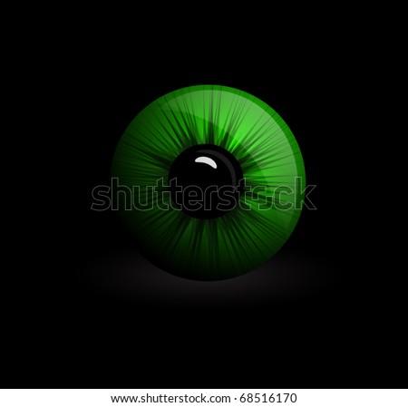 Eyeball - stock vector