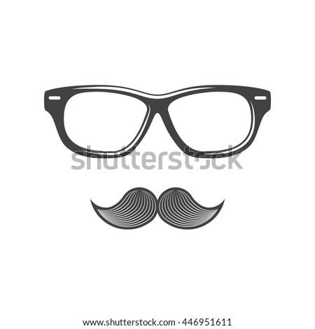 Sunglasses Logo Black And White Eyewear Stock I...