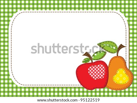 fabric fruit background