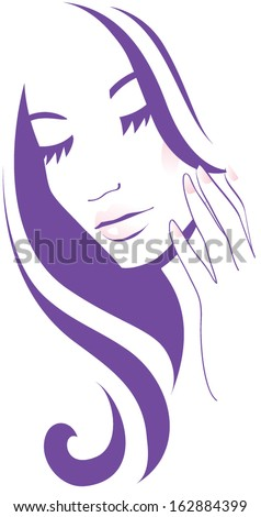 Face care - stock vector