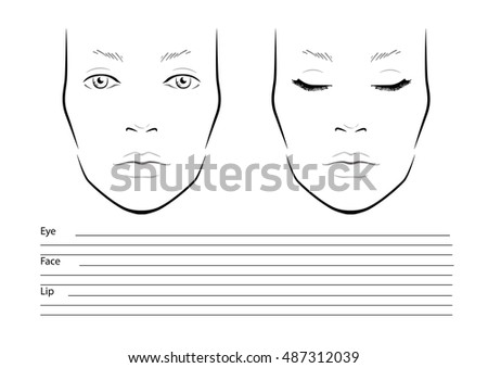 Makeup Chart Stock Images RoyaltyFree Images  Vectors
