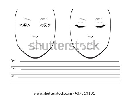 Face Chart Stock Images, Royalty-Free Images & Vectors | Shutterstock