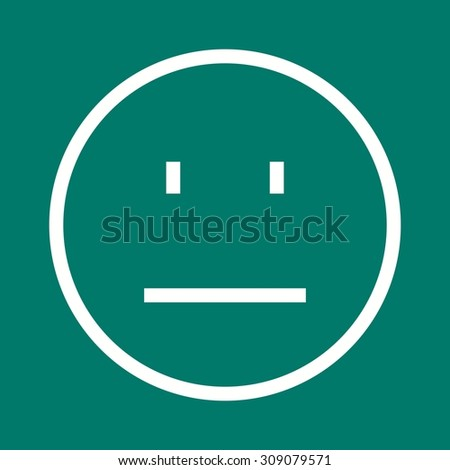 Face, portrait, people icon vector image. Can also be used for emotions and Halloween. Suitable for mobile apps, web apps and print media.