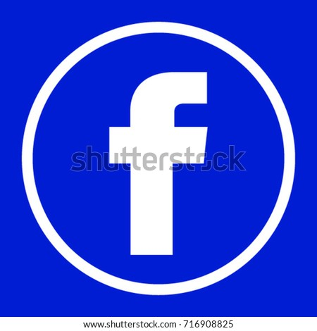 facebook logo round for application
