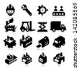 Factory Icons - stock