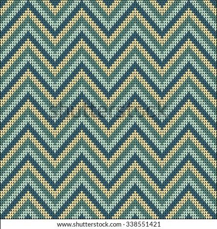 Zig Zag Sweater Knitting Pattern 107