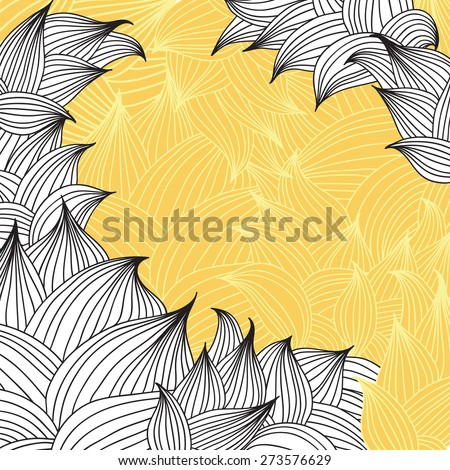 Fall. Vector illustration in graphic style - stock vector