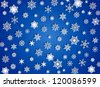 Falling snow, EPS 10, file contains transparency - stock vector