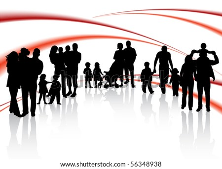 Families and abstract vector
