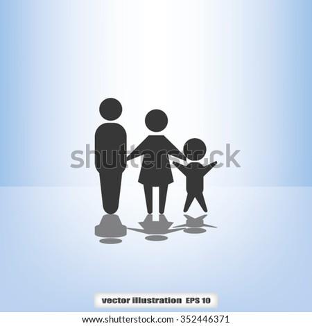 family - stock vector