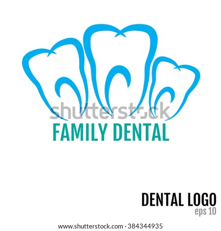 Family Dental JPEG, Object, Picture, Image, Graphic, Vector Art, JPG, EPS, Drawing - stock vector - stock vector