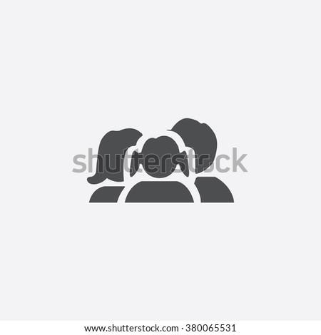 family Icon Vector. family Icon Art. family Icon Picture. family Icon Image. family Icon logo. family Icon Sign. family Icon Flat. family Icon design. family icon app. family vector design - stock vector