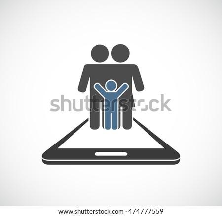 sign forbidden mobile phone icon stock vector 56951383 shutterstock. Black Bedroom Furniture Sets. Home Design Ideas