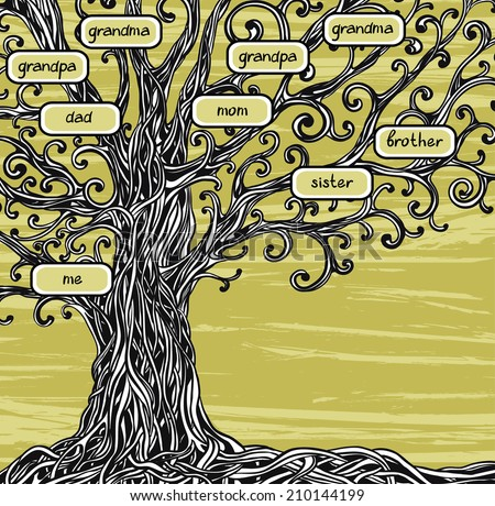Family tree stock images royalty free images vectors - Family tree desktop wallpaper ...