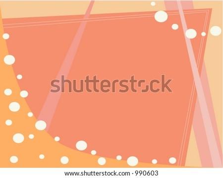 Fan Bubbles - stock vector