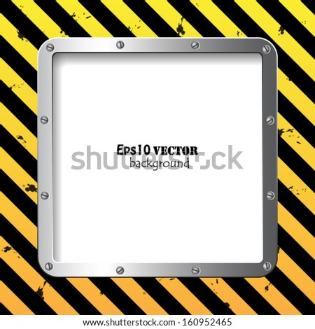 Fantastic business steel plate background - stock vector