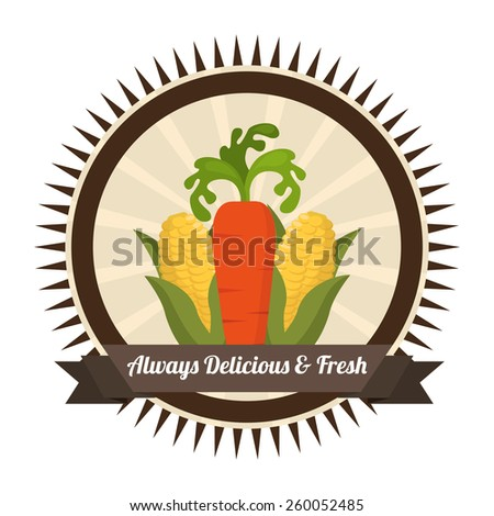 farm fresh design, vector illustration eps10 graphic