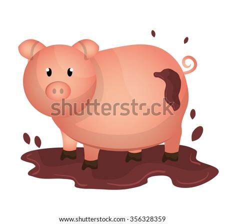 Farm fresh graphic design, vector illustration eps10 - stock vector