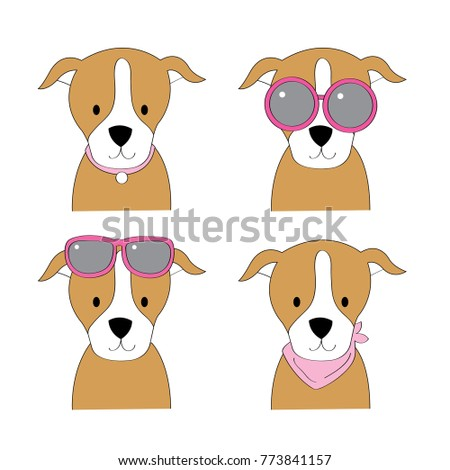 Most Inspiring Bull Chubby Adorable Dog - stock-vector-fashion-cartoon-cute-american-pit-bull-dog-vector-773841157  Snapshot_584762  .jpg