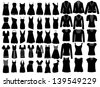 Fashion elements - stock vector