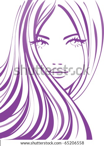 Fashion girl - stock vector