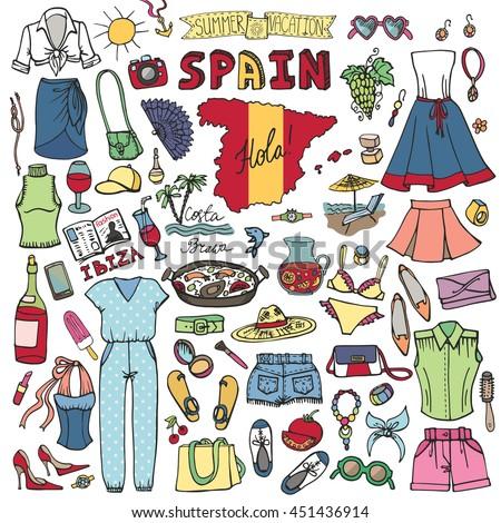 Spain Clothes