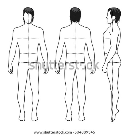 fashion figure template stock photos royaltyfree images