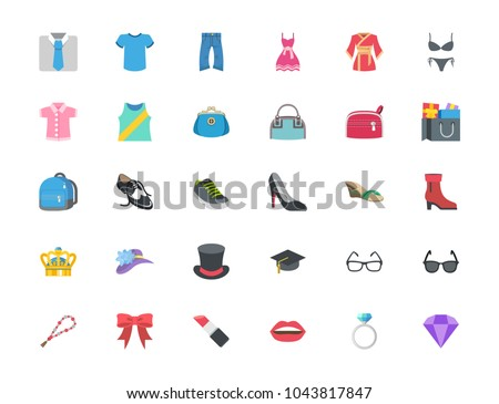 Fashion Menswear Womenswear Accessories Ring Hat Stock Vector