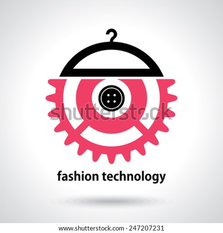 fashion technology illustration  - stock vector