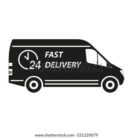 delivery truck icon vector - photo #24