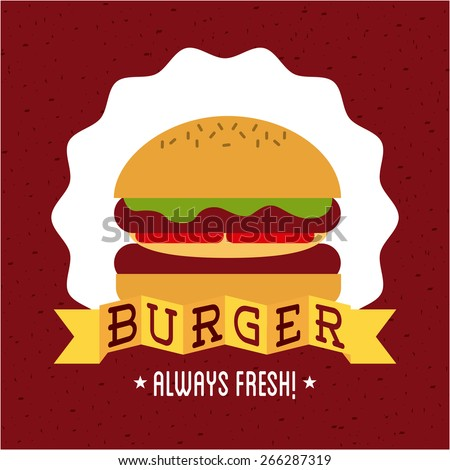 fast food design,vector illustration eps10 graphic
