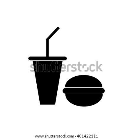 Fast food icon - stock vector