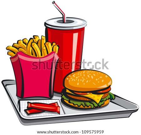 fast food meal