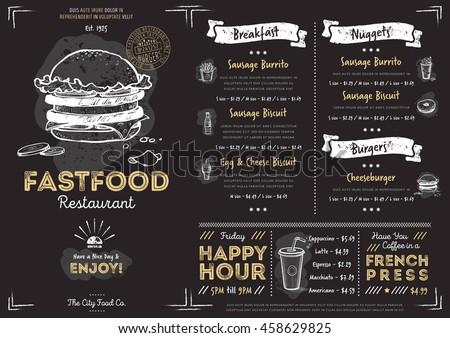 chalkboard menu stock images royalty free images. Black Bedroom Furniture Sets. Home Design Ideas