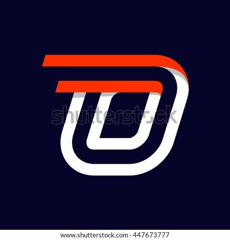 Fast Speed Sport Number Zero Logo On Black Vector Elements For Sportswear T