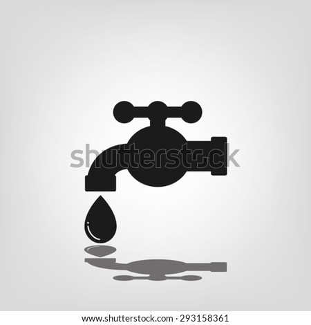 faucet and drop