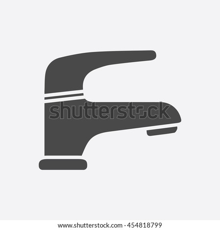 Faucet icon of vector illustration for web and mobile design