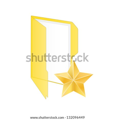 Favorite icon. Vector illustration. - stock vector