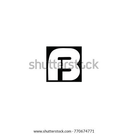 Fb Letter Logo Stock Vector 770674771 Shutterstock